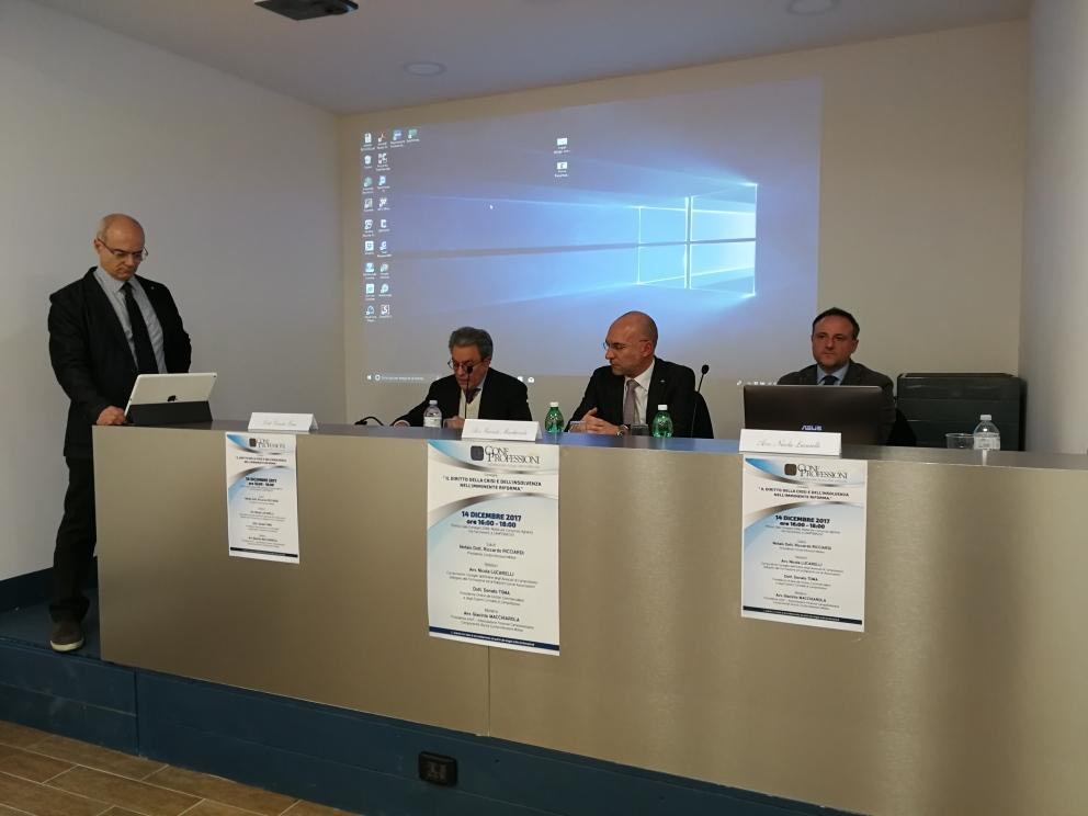 L'incontro di Confprofessioni: Toma, Ricciardi, Macchiarola, Lucarelli confprofessioni