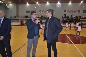 Il saluto del consigliere regionale Carmelo Parpiglia