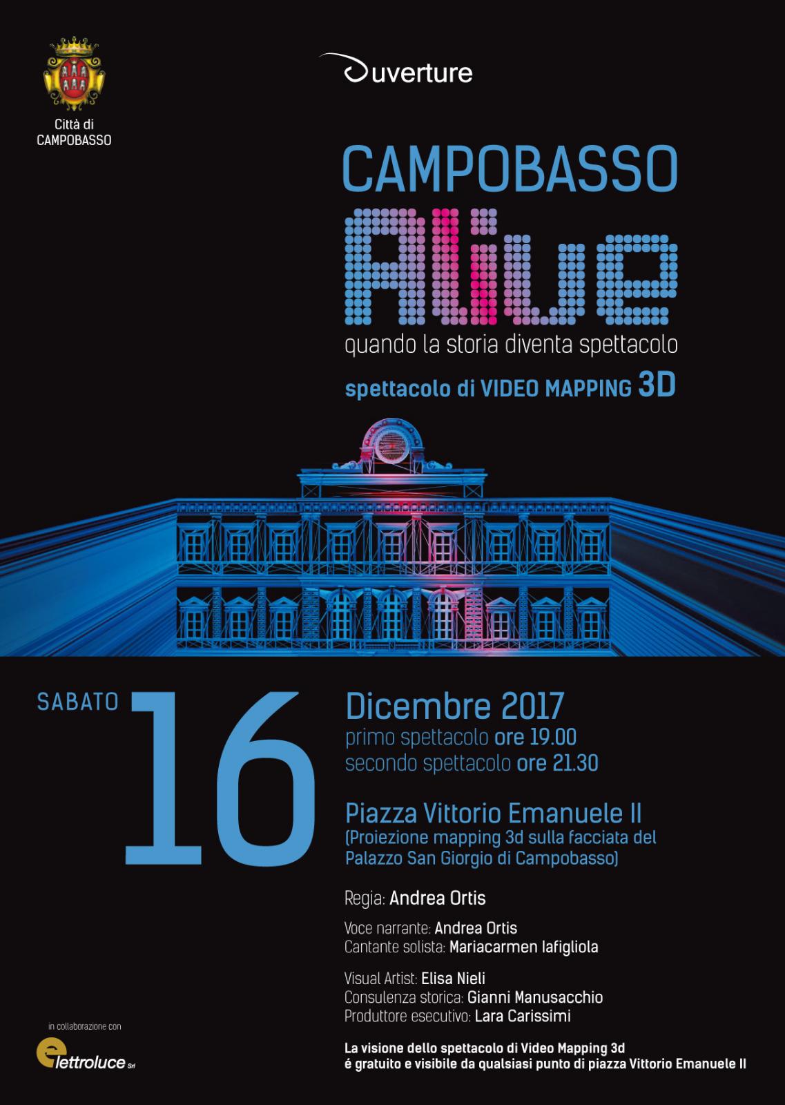 La locandina di 'Campobasso Alive'