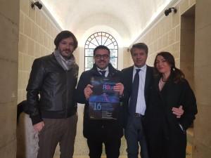 Andrea Ortis, Salvatore Colagiovanni, Pino Libertucci e Lara Carissimi