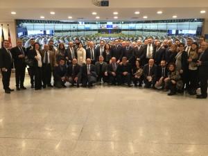 La delegazione molisana a Bruxelles