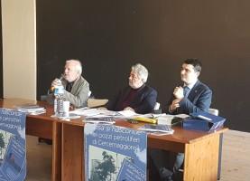 Il consigliere regionale Salvatore Ciocca, il giornalista Giovanni Mancinone e l'avvocato Jean Paul de Jorio