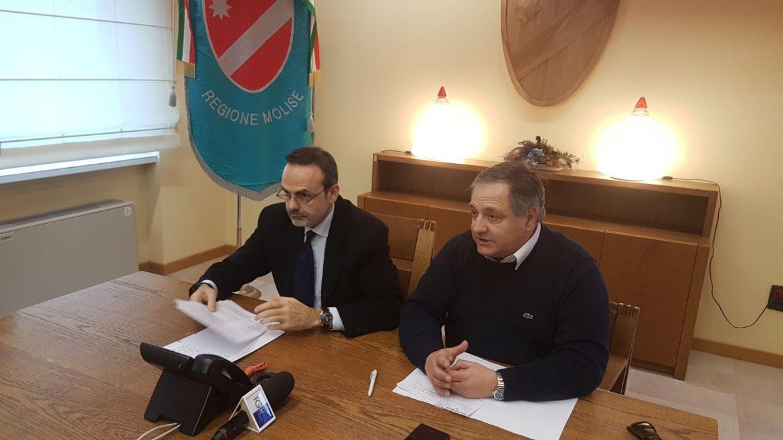 Il governatore Frattura e l'assessore Nagni