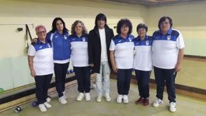 La squadra femminile della società 'La Torre' Vinchiaturo