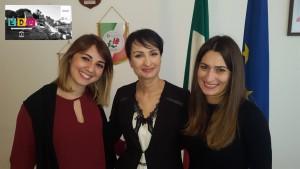 Liliana Desiata, vice-presidente Comitato Giovani Unesco del Molise, Anna Paola Sabatini, Dir. Ufficio Scolastico Molise; Nicoletta Di Pinto, presidente Comitato Giovani Unesco Molise