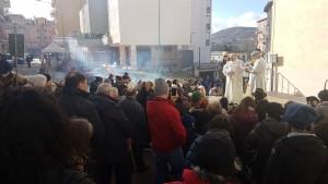 La benedizione degli animali a Sant'Antonio Abate