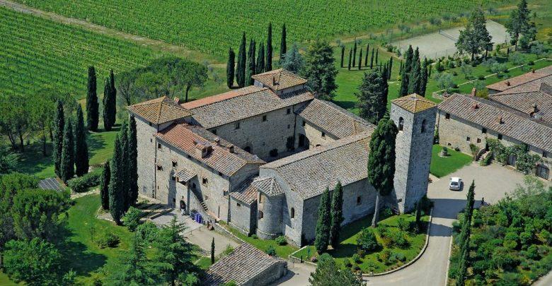 Il Castello di Spaltenna dove si svolgerà l'esclusiva cena di Gala