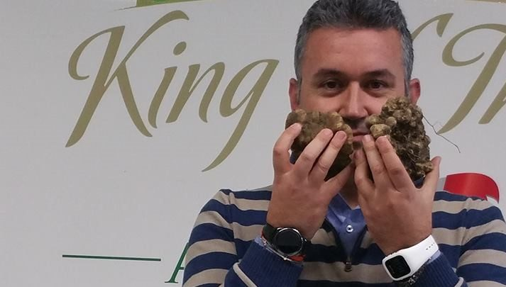 Edmondo Angelaccio, general manager della 'King of Truffles'