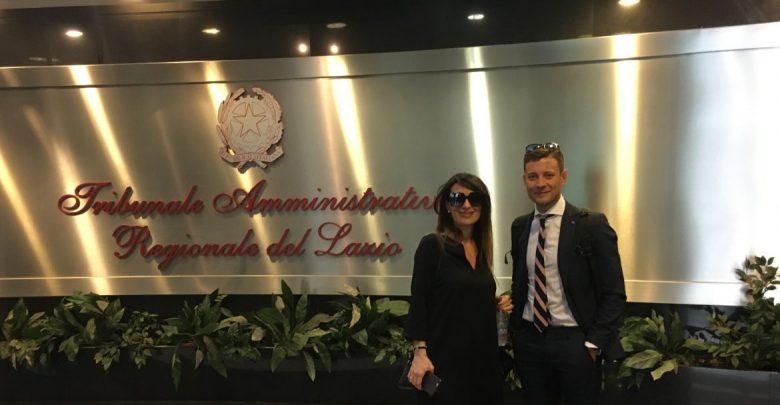 Gli avvocati Rossi e Bruno al Tar Lazio
