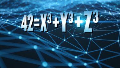 Photo of Nel mondo della matematica: il problema del numero 42 ha una soluzione