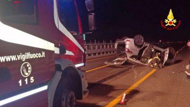 Photo of A14, scontro tra due auto: paura per un famiglia con a bordo una bambina di 9 mesi. Illesi tre giovani e un cane