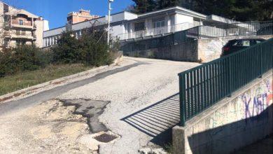 Photo of Area sportiva di via Gorizia, interpellanza di Pascale sullo stato di degrado del parcheggio adiacente la piscina, il bocciodromo e gli impianti di pallavolo e tennis