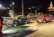 Photo of Scontro tra due auto sulla Statale 212. Coinvolte una Opel Corsa e una Fiat Punto