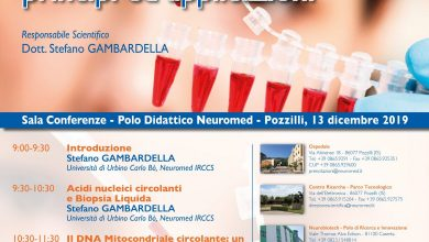 Photo of La biopsia liquida: una nuova frontiera diagnostica. Meeting al Neuromed