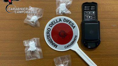 Photo of Campomarino, detenzione ai fini di spaccio di cocaina. Un 23enne denunciato dai Carabinieri