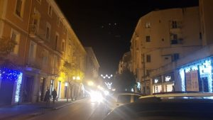 Luminarie in via Roma