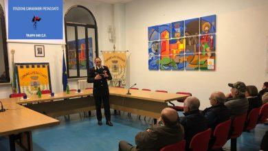 Photo of Petacciato, i Carabinieri incontrano i cittadini per la prevenzione di truffe e furti
