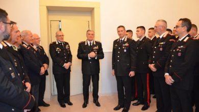 Photo of Carabinieri, il generale Tomasone ha salutato il personale della regione Molise a pochi giorni dal suo congedo