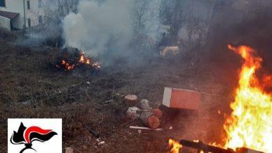 Photo of Campolieto, bruciano rifiuti speciali nel giardino di casa: denunciati due uomini