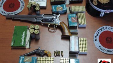 Photo of Sant'Elia a Pianisi, detiene armi e munizioni: denunciato dai carabinieri