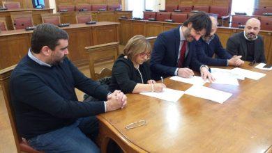 Photo of Censimento della segnaletica stradale verticale, firmato il protocollo d'intesa tra Comune, Istituto Tecnico Pilla e Collegio dei Geometri di Campobasso