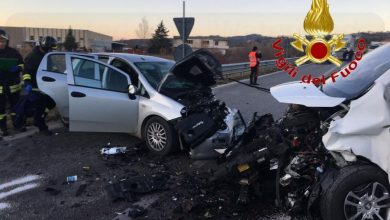 Photo of Statale 17, incidente tra auto e furgone: un morto e due feriti