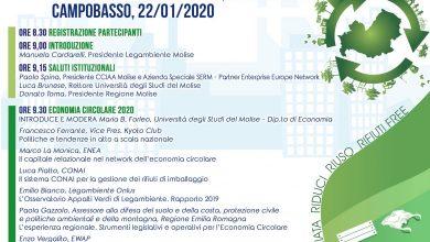 Photo of EcoForum, l'economia circolare dei rifiuti. Appuntamento alla Camera di Commercio del Molise