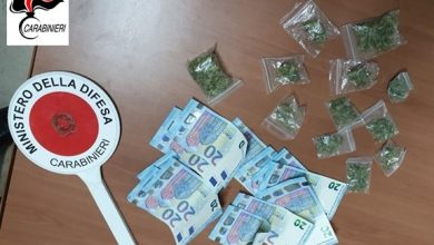 Photo of Lotta spietata dei carabinieri al traffico di droga, sequestrato stupefacente a giovanissimi