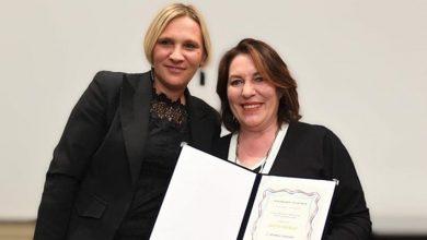 Photo of Antonella D'Antuono, onorificenza dalla presidente della Repubblica di Croazia