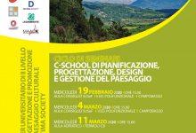 Photo of Seminari della C-School di pianificazione, progettazione, design e gestione del paesaggio