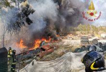 Photo of Montaquila, incendio in una fabbrica. Pronto l'intervento dei Vigili del Fuoco