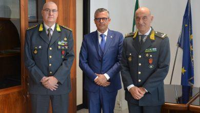 Photo of Il nuovo questore di Campobasso fa visita al Comando regionale della Guardia di Finanza
