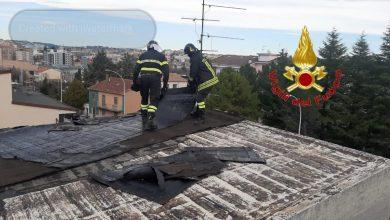 Photo of Vigili del Fuoco, diversi gli interventi per le forti raffiche di vento