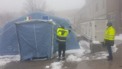Photo of Protezione Civile al lavoro, pre-triage del 'Cardarelli' ripristinato a tempo record. Dal Dipartimento Nazionale in arrivo i moduli