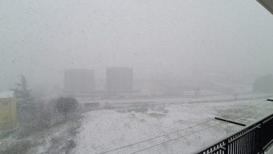 Photo of Neve a Campobasso e in diversi centri del Molise. Nessun disagio complice la quarantena per il Coronavirus