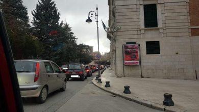 Photo of Campobasso, pomeriggio trafficato in centro e posto di blocco della Polizia Municipale