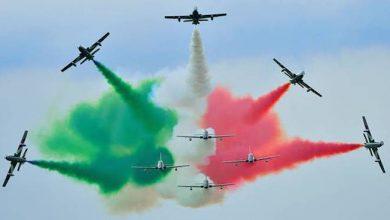 Photo of A Campobasso le Frecce Tricolori: alle 15,44 di giovedì 28 maggio il passaggio sui cieli della città