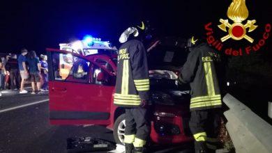 Photo of Baranello, nella notte incidente allo svincolo. Due auto coinvolte