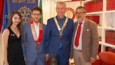 Photo of Passaggio del martelletto al Rotary Club Campobasso