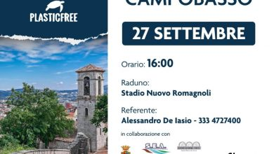 Photo of Campobasso, tutto pronto per l'evento 'Plastic Free'