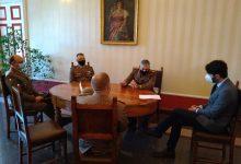 Photo of Incontro a Palazzo San Giorgio tra il sindaco Gravina e i vertici del Comando Militare dell'Esercito per l'Abruzzo e il Molise
