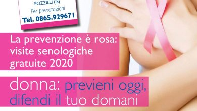 Photo of Prevenzione del tumore al seno, al Neuromed uno screening gratuito in collaborazione con LILT