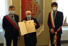 Photo of Il sindaco Gravina riceve Michele Montagano, cittadino benemerito di Campobasso