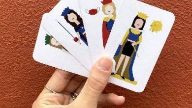 Photo of Dall'isolamento forzato all'iper-creatività: così nascono 'Le recluse', le carte da gioco della pandemia. A idearle una giovane campobassana