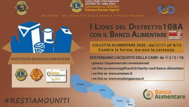 Photo of Colletta Alimentare, i Lions al fianco del Banco Alimentare