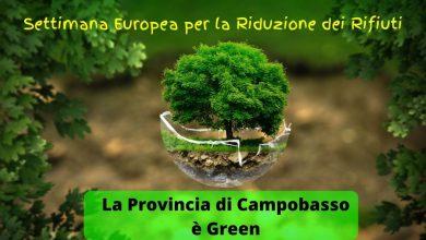 Photo of Settimana Europea per la Riduzione dei Rifiuti, la Provincia di Campobasso in prima linea