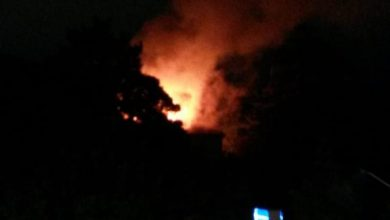 Photo of Paura in città: le fiamme avvolgono l'antica villa in via San Giovanni a pochi metri dal distributore di benzina