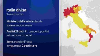 Photo of Il Molise rimane zona gialla, dubbi e richieste dal PD