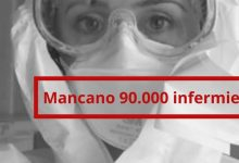 Photo of In Italia mancano novantamila infermieri, l'allarme del sindacato Nursing Up