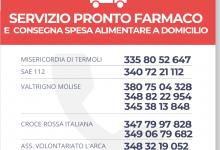 Photo of Consegna farmaci, ossigeno e cibo a Termoli tutti i servizi